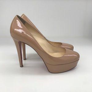 Christian Louboutin Bianca Patent nude size 39.5